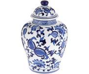 Vase en porcelaine avec couvercle Annabelle