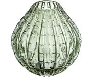 Vase en verre vert Lioba