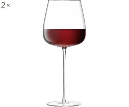 Verre à vin rouge soufflé bouche Wine Culture, 2pièces