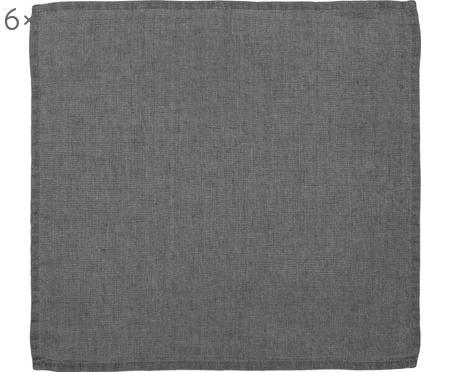 Serviettes de table en lin Ruta, 6 pièces