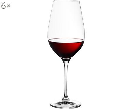 Verre à vin rouge cristalHarmony, 6pièces