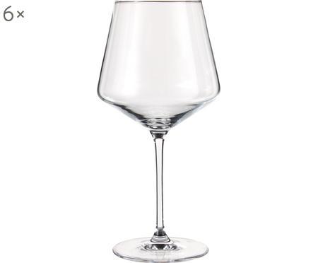 Verres à vin rouge Puccini, 6pièces