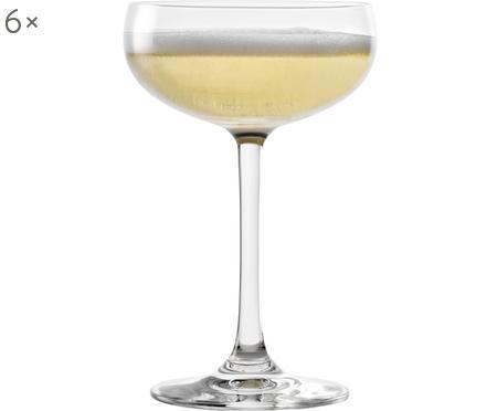 Coupe à champagne cristal Elements, 6pièces