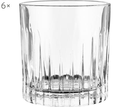 Verre à whisky en cristal à rainuresTimeless, 6pièces