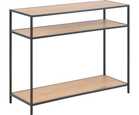 Console en bois et métal Seaford
