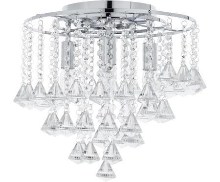 Plafonnier avec cristaux de verre Dorchester