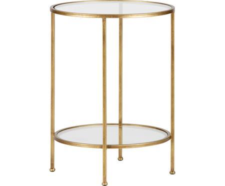 Table d'appoint en verre finition antiquaire Goddess