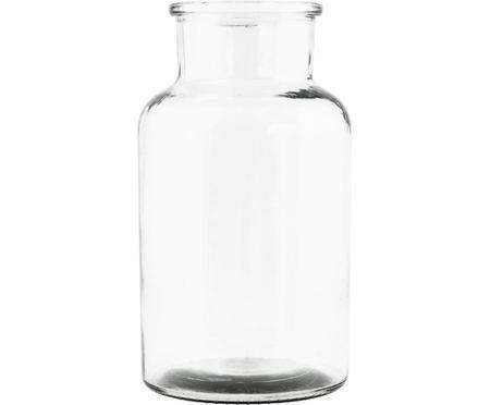 Vase en verre transparent Jaredya