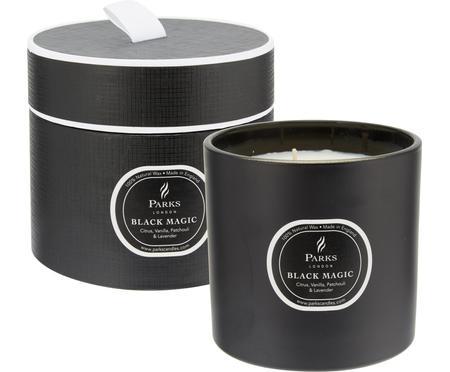 Bougie parfumée à trois mèches Black Magic (agrumes et vanille)