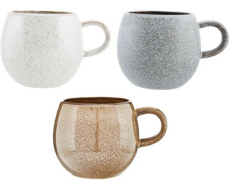 Ensemble de tasses à thé faites main Addison, 3élém.