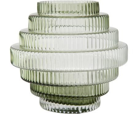 Vase en verre transparent Rilla