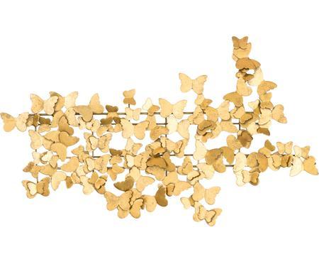 Décoration murale en métal Butterfly