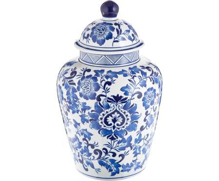 Grand vase en porcelaine avec couvercle Annabelle