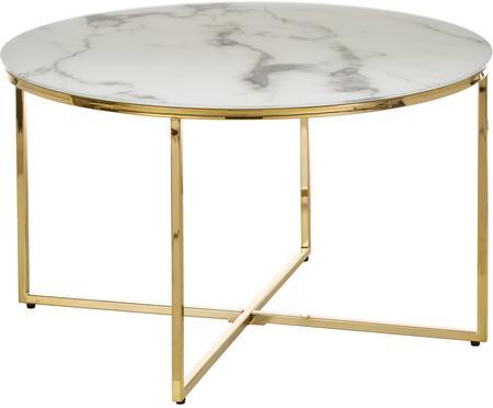 Table basse verre marbré Antigua