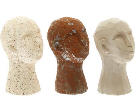 Objet décoratif Figure Head, 3élém.