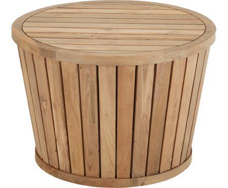 Table d'appoint de jardin en bois de teck Circus
