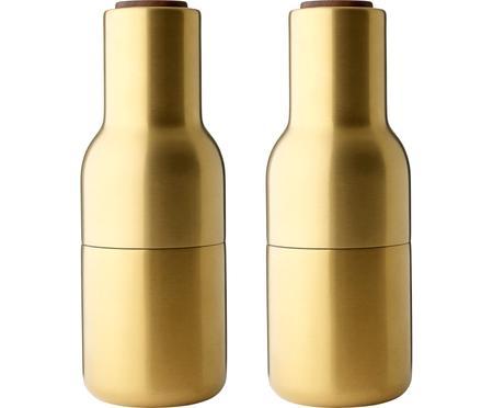 Moulin à épicesdoré design Bottle Grinder, 2élém.