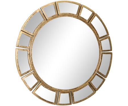 Miroir mural rond avec cadre doré Amy
