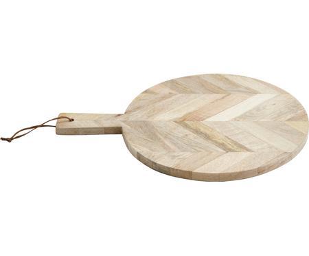 Planche à découper bois de manguier Herringbone, Ø32cm
