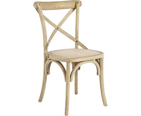 Chaise rustique bois Cross