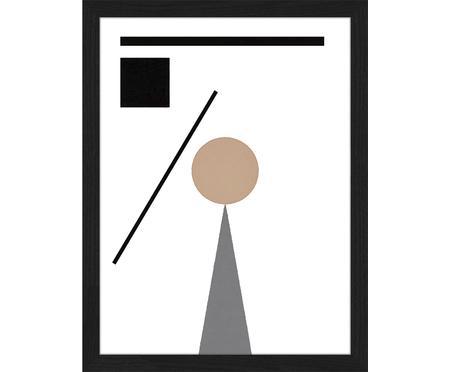 Impression numérique encadrée Abstract Minimalist