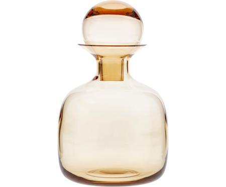 Carafe ambre/transparent faite main Colored, 1,5 L