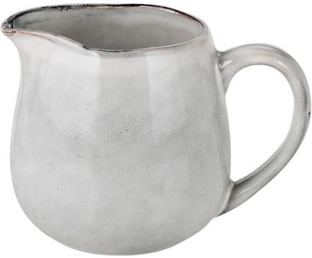 Pot à lait en grès fait main Nordic Sand, 300ml