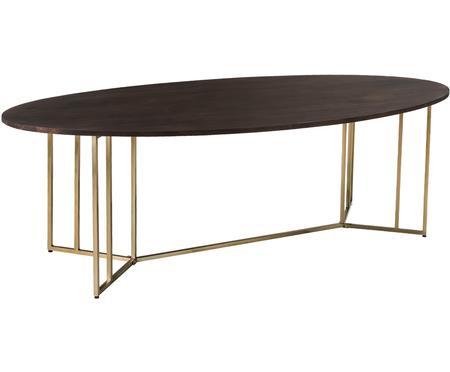 Table ovale bois massif Luca