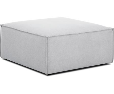 Pouf canapé gris clair Lennon