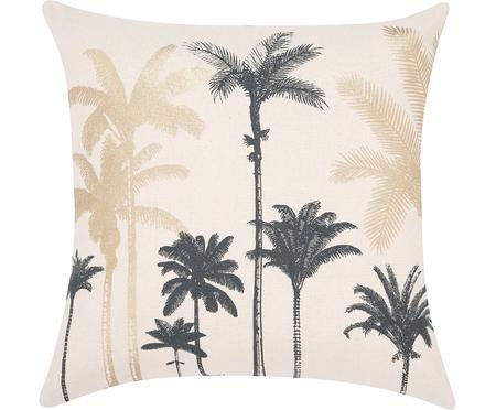 Housse de coussin motif palmier Palmas