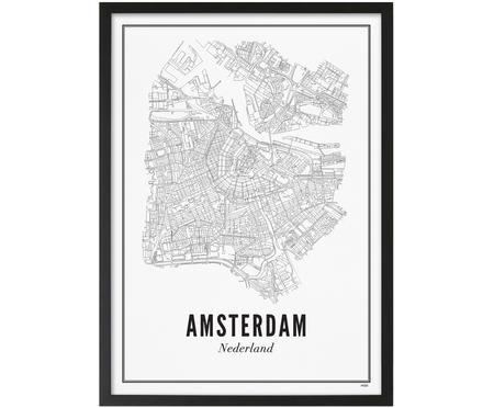 Impression numérique encadrée Amsterdam