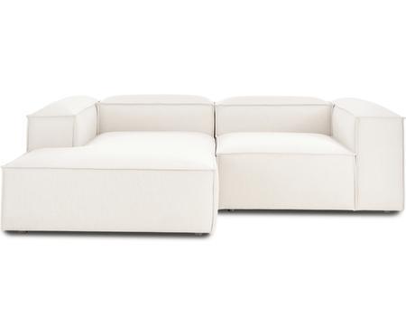 Canapé d'angle modulable beige Lennon