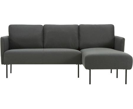 Canapé d'angle anthracite Ramira