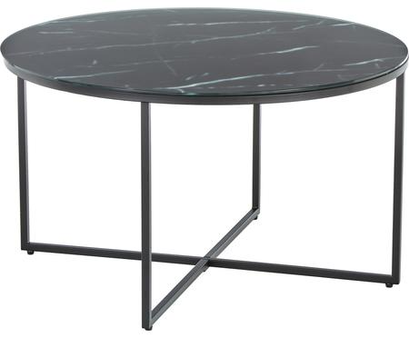 Table basse en verre marbré Antigua