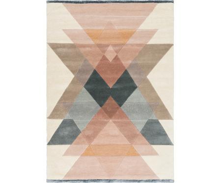 Tapis design pure laine pastel Freya