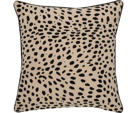 Housse de coussin 45x45 déco Leopard