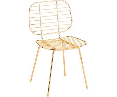 Chaise métal design Chloé