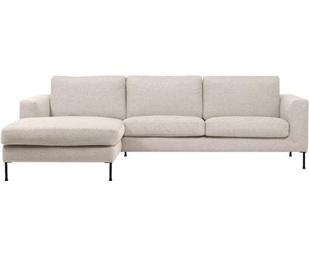 Canapé d'angle 3places beige Cucita