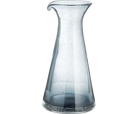 Carafe en verre soufflé Bubble, 800ml