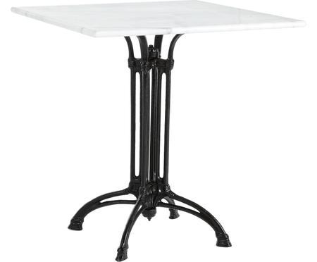 Table de jardin avec plateau en marbre Loren