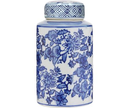 Petit vase en porcelaine avec couvercle Annabelle