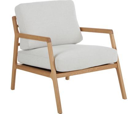 Fauteuil lounge en bois Becky