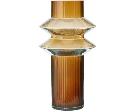 Grand vase en verre ambré Rilla