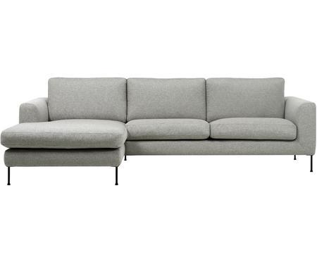 Canapé d'angle 3places gris clair Cucita