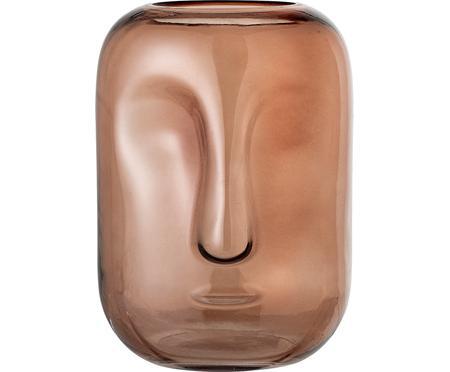 Vase en verre Face