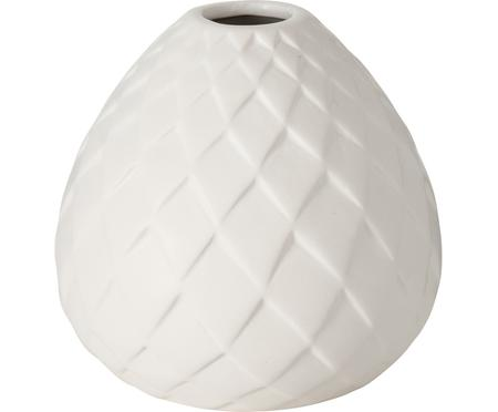 Vase fait main blanc Fabyo