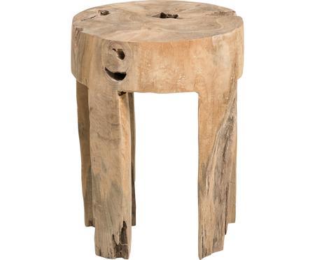 Tabouret en bois de teck Java