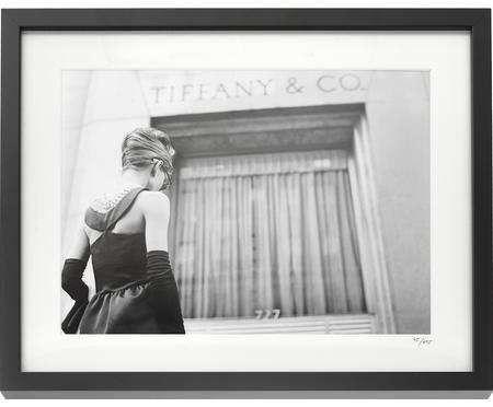 Impression photographique encadrée Hepburn Breakfast at Tiffany's