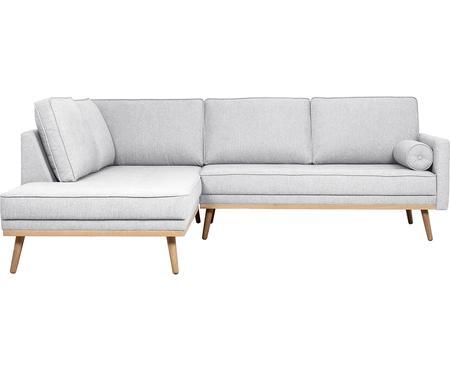 Canapé d'angle 3places gris clair Saint