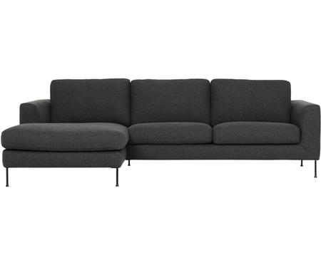 Canapé d'angle 3places anthracite Cucita